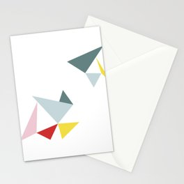 Triangles in the Sky Stationery Cards