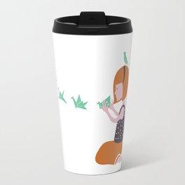 Origami bird Travel Mug