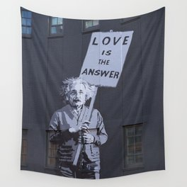 Love is the Answer Wall Tapestry