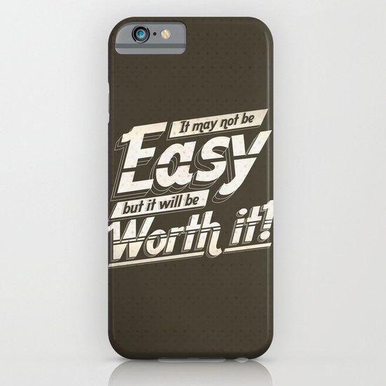 It may not be easy... iPhone & iPod Case