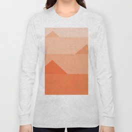 Abstraction_Triangles_001 Long Sleeve T-shirt