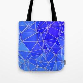 SUMMER SAND & BLUE FLUID Tote Bag