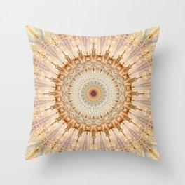 Mandala Castel Sant' Angelo Throw Pillow