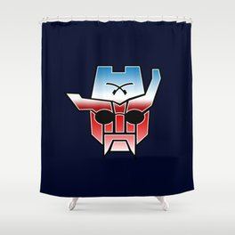 Rough Rider in Disguise Shower Curtain