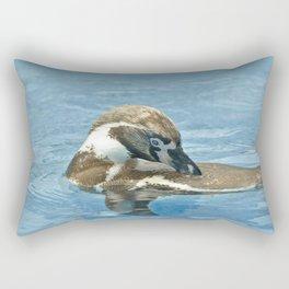 Humboldt penguin (Spheniscus humboldti) Rectangular Pillow