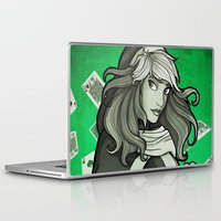 rogue Laptop & iPad Skins featuring Rogue by Miss-Lys