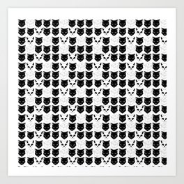 Schrodinger's Cat Print Art Print