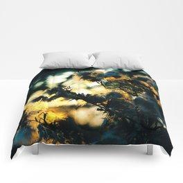 Golden Hair Comforters