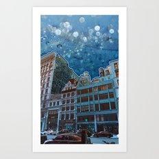 5th Avenue Frost Art Print