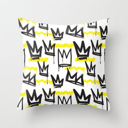 Graffiti illustration 04 Throw Pillow