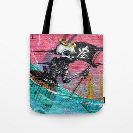 Sailing Skeleton  Tote Bag