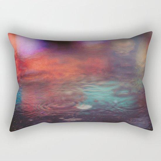 Bokeh on water Rectangular Pillow