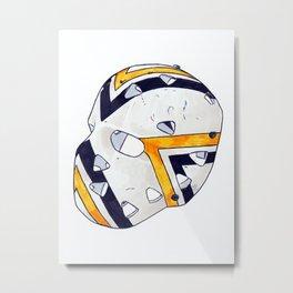 Herron - Mask Metal Print