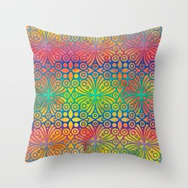 DP050-3 Colorful Moroccan pattern Throw Pillow