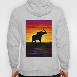 Elephant Sunset Hoody