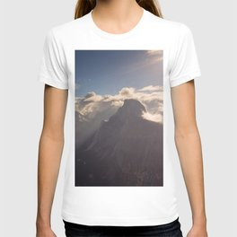 Sunrays Over Half Dome T-shirt