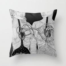 Höra ihop Throw Pillow