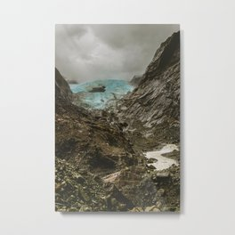 Franz joseph glacier 2 Metal Print