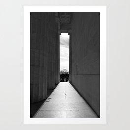 Lincoln Memorial IV Art Print