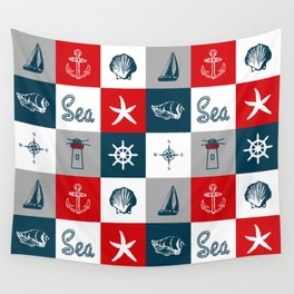 Nautical design 4 Wall Tapestry