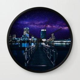 Milwaukee Milky-Way Wall Clock