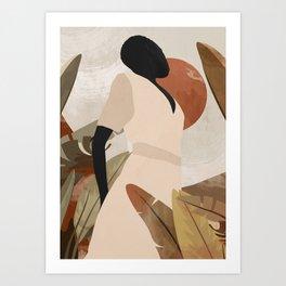 Tropical Girl 16 Art Print