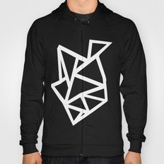 Ab Outline Thicker Black Hoody