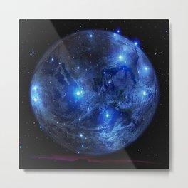 Blue Moon. Metal Print
