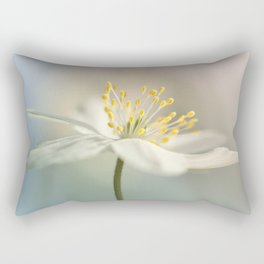 Loveable Wood Anemone... Rectangular Pillow