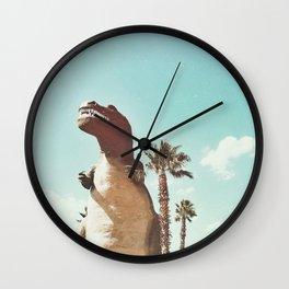 dino daze Wall Clock