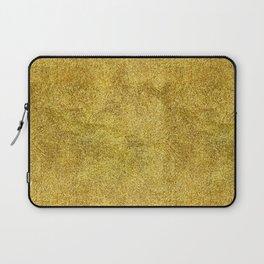Antique Gold Glitter Laptop Sleeve
