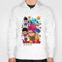 dragonball Hoodies featuring Rise of Mini Dragonball by cungtudaeast