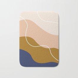 modern chic pattern Bath Mat