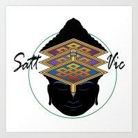 Sattvic Art Print