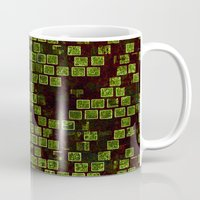 sonic Mugs featuring Sonic Tiles by CirnitskiDesign