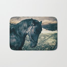 Horse friend Bath Mat
