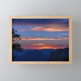 Colorful Sunset - North_Rim, Grand_Canyon, AZ Framed Mini Art Print