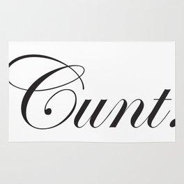 Sophisticated Ignorance - Cunt. Rug