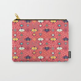 Cosmos Pattern Carry-All Pouch