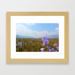 Among the Wildflowers Framed Art Print