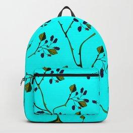 Blackberries and a Robin Backpack