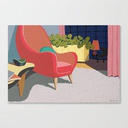 Come In And Sit Down Canvas Print