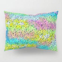 A pile of colorful joy Pillow Sham