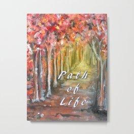 Path of Life Metal Print