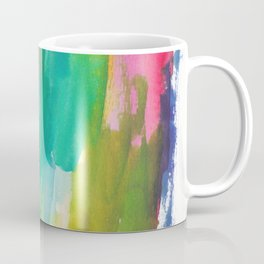180812 Abstract Watercolour Expressionism 5| Colorful Abstract | Modern Watercolor Art Coffee Mug