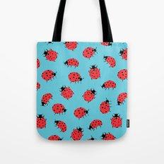 Ladybird Print Tote Bag