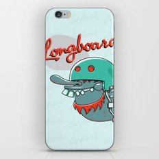 Longboard iPhone & iPod Skin