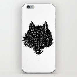 Wolf's Head iPhone Skin