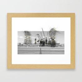 Cha-Cha-Chia Fields Framed Art Print