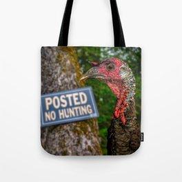 Smart Bird Tote Bag